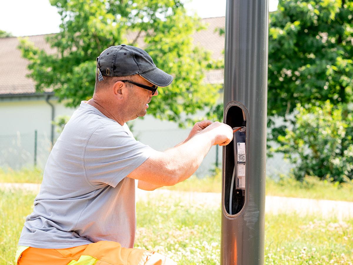 Unsere Projekte | Wartung, Reparatur Straßenbeleuchtung