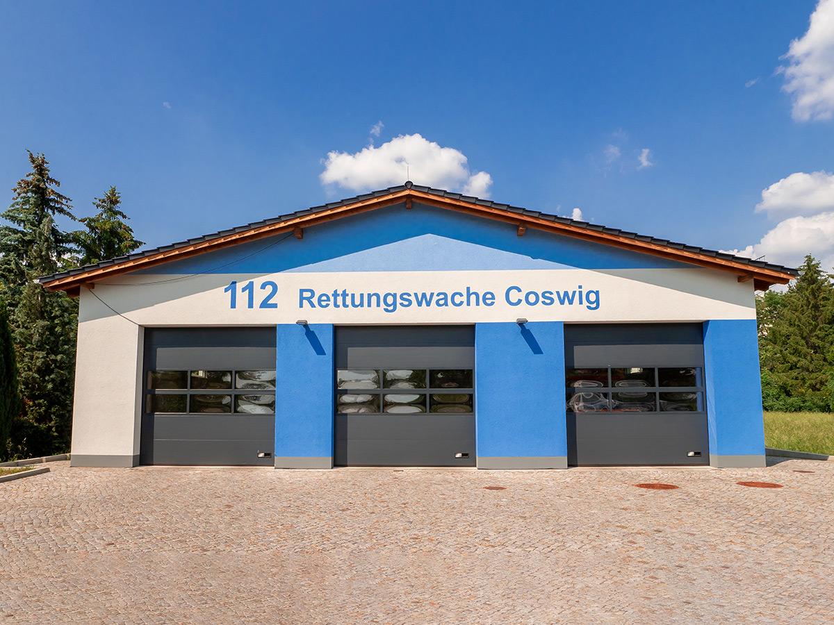 Unsere Projekte | Rettungswache Coswig